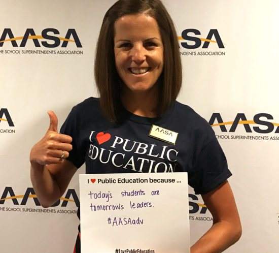 AASA Love Public Education