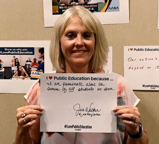 AASA Love Public Education