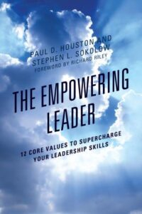 Book Cover: The Empowering Leader